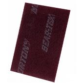 Шлифовальный войлок Norton BearTex 152x229 (бордовый) P320/P400 60шт