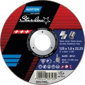 Отрезной диск Norton Star Line  A30P T41  125x2.5x22.23
